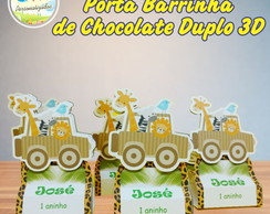 Porta barrinha de chocolate Duplo