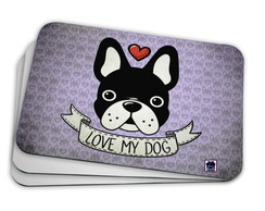 Mouse Pad - Love my Dog
