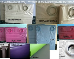 Cortina Blackout Corta Luz Escolar Cor