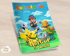 Revista colorir Pokemon