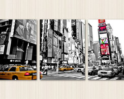Quadro Decorativo Nova York Times Square