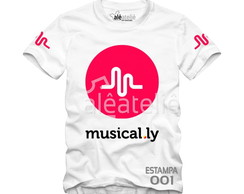 Camiseta Musical Ly Google Personalizada