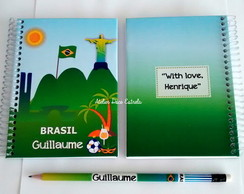 Mini Caderno do Brasil