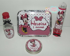 Kit Minie Mouse - 4 itens
