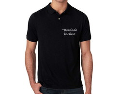 Camisa Polo Piquet * Bordado Incluso