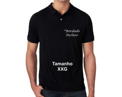Camisa Polo Piquet XXG *Bordado Incluso