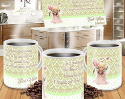 KIT CANECAS PORCELANA + TAG