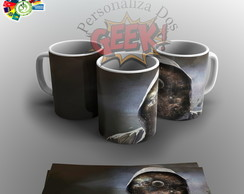 Caneca Personalizada Abstract Man