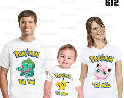 kit camisetas aniversario pokemon 612