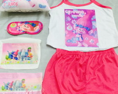 kit festa do pijama trolls
