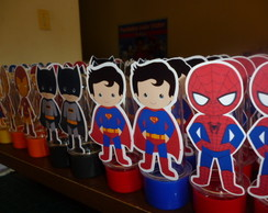 MINI TUBETE SUPER HEROIS CUTE