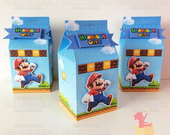 Milk Box Super Mario