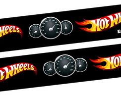 Pulseira bate enrola Hot Wheels