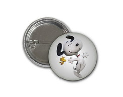 Botton Snoopy e Woodstock - 2,5cm
