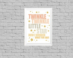 Quadro infantil little star