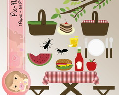 Kit papel Digital Scrapbook PIC NIC