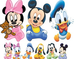Kit 9 Completo Totem Disney Baby Mickey