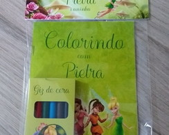 Kit colorir com lapela