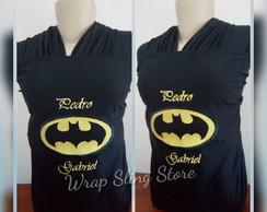 Wrap sling, canguru batman, super herois