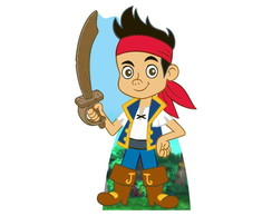 Totem Chao Display Jake e os Piratas 01