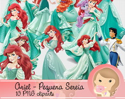 Kit Digital Scrapbook ARIEL (png)