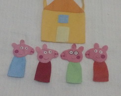 dedoches familia peppa pig