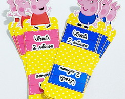 Porta chocolate duplo Peppa Pig
