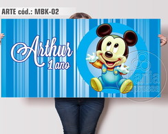 Painel Festa Mickey Baby