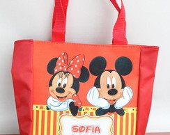 BOLSINHA TOP - Mickey e Minnie