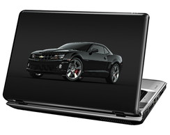 Skin Para Notebook - Camaro Black