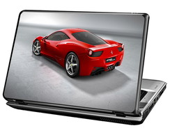 Skin Para Notebook - Ferrari Red
