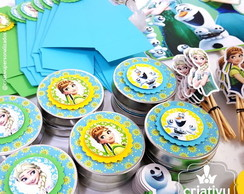 Kit Festa Scrap Frozen Fever Exclusive