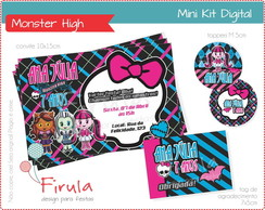 Mini Kit Digital Monster High
