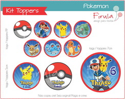 Kit Digital Toppers Pokemon