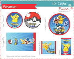 Kit Festa Digital Pokemon