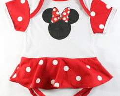 Body Personagem Minnie Bebê