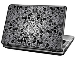 Skin Para Notebook - Skull Old School