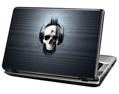 Skin Para Notebook - Skull Play