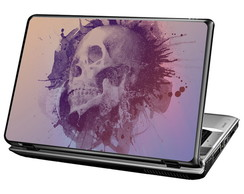 Skin Para Notebook - Skull Ink