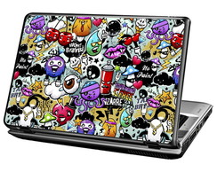 Skin Para Notebook - Sticker Funny