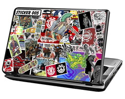 Skin Para Notebook - Sticker - Skate