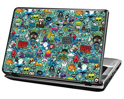 Skin Para Notebook - Sticker Retrô
