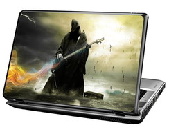 Skin Para Notebook - Morte Guitarrista