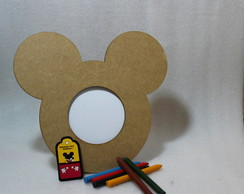 Kit para Colorir Porta Retrato Mickey