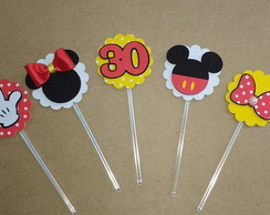 Topper para doces Minnie Mickey