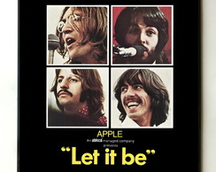 Quadro Beatle s Let it Be