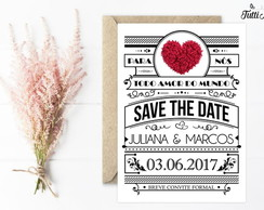 Save the Date Casamento - Digital