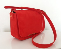 "Bolsa camurca ""alternativa"" Lully red"