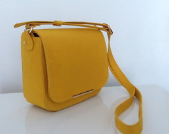 "Bolsa camurca ""alternativa"" Lully yellow"