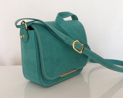 "Bolsa camurca ""alternativa"" Lully verde"